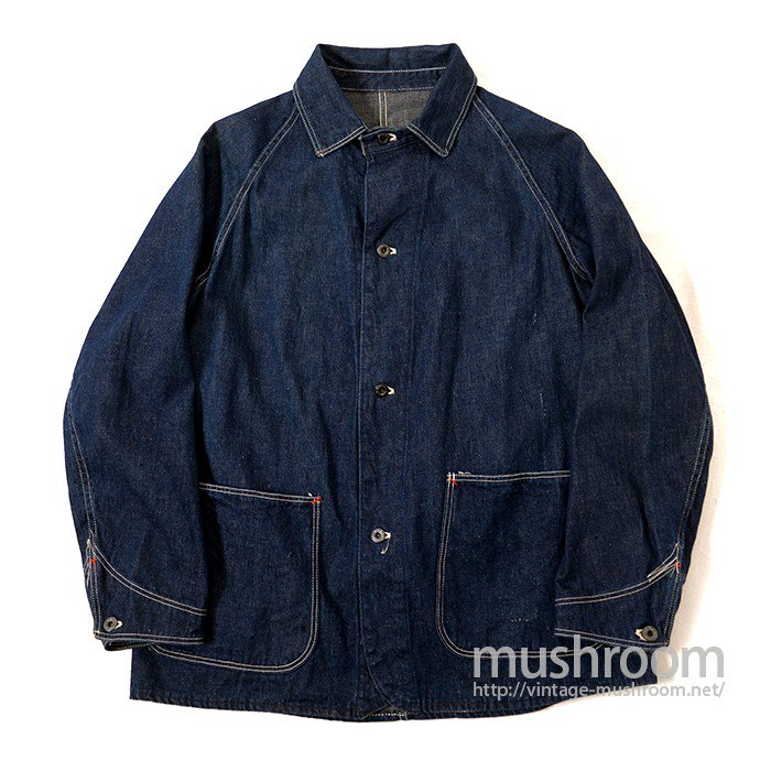 WW2 2POCKET DENIM COVERALL( ONE WASHED )