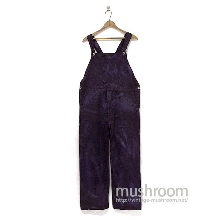 BLOCH BRAND OVERDYE COTTON OVERALL