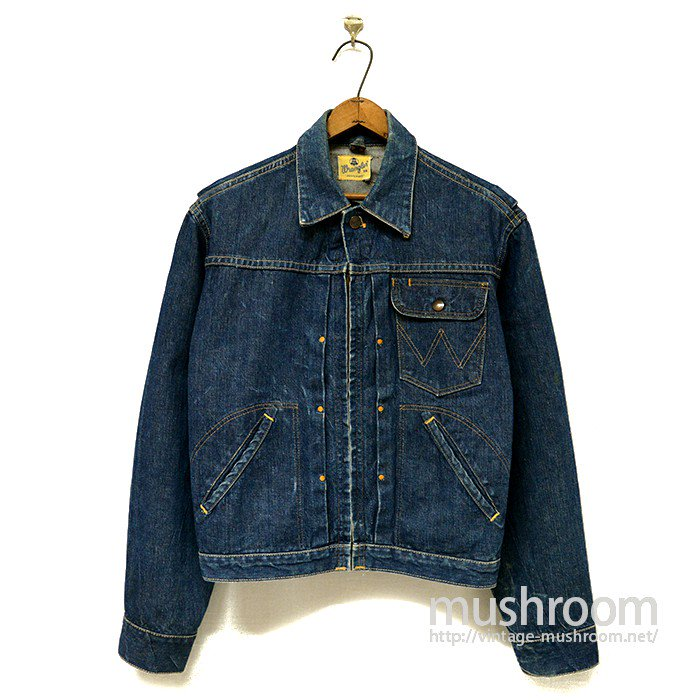 WRANGLER11MJZ  DENIM JACKET