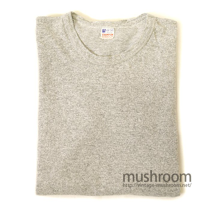 CHAMPION PLAIN T-SHIRT( RUNNER'S TAG )