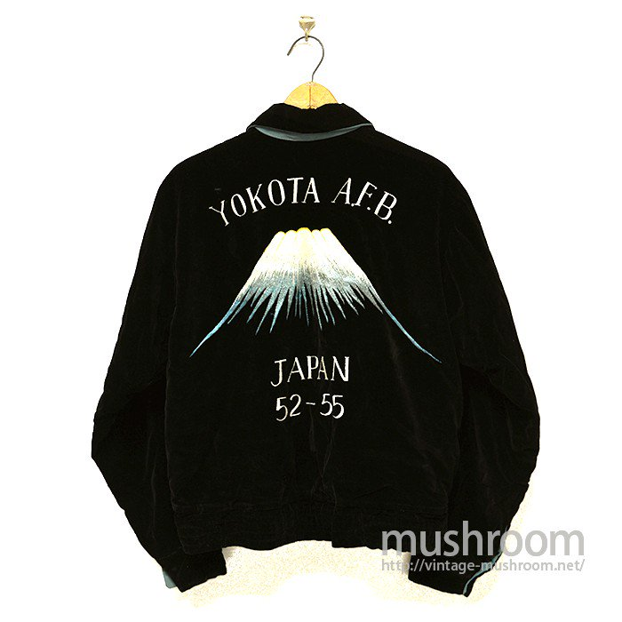 YOKOTA AIRFORCE BASE SOUVENIR JACKET( MINT )