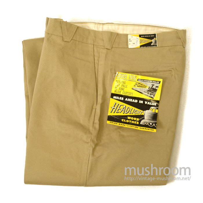 HEAD LIGHT WORK TROUSER( W36/DEADSTOCK )