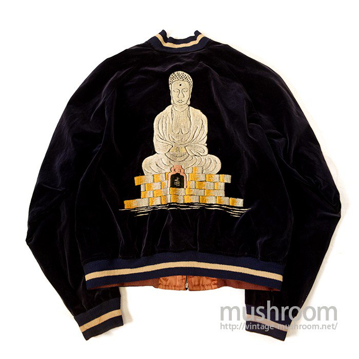 JAPAN SOUVENIR JACKET( BUDDHA )