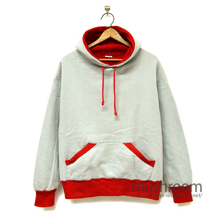 AKOM TWO-TONE SWEAT HOODY( MINT )