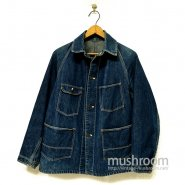 OLD DENIM FOUR POCKET COVERALL
