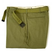 U.S.ARMY M-1942 HBT TROUSER WITH BELT( DEADSTOCK )