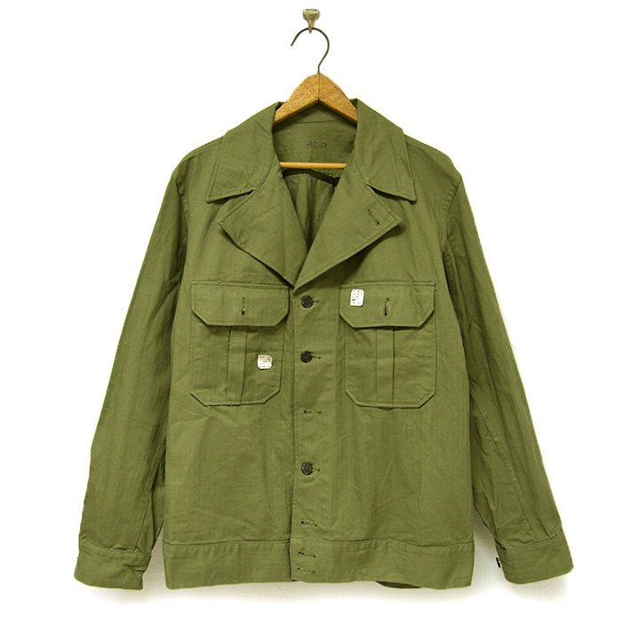U.S.ARMY M-1942 HBT JACKET( DEADSTOCK )