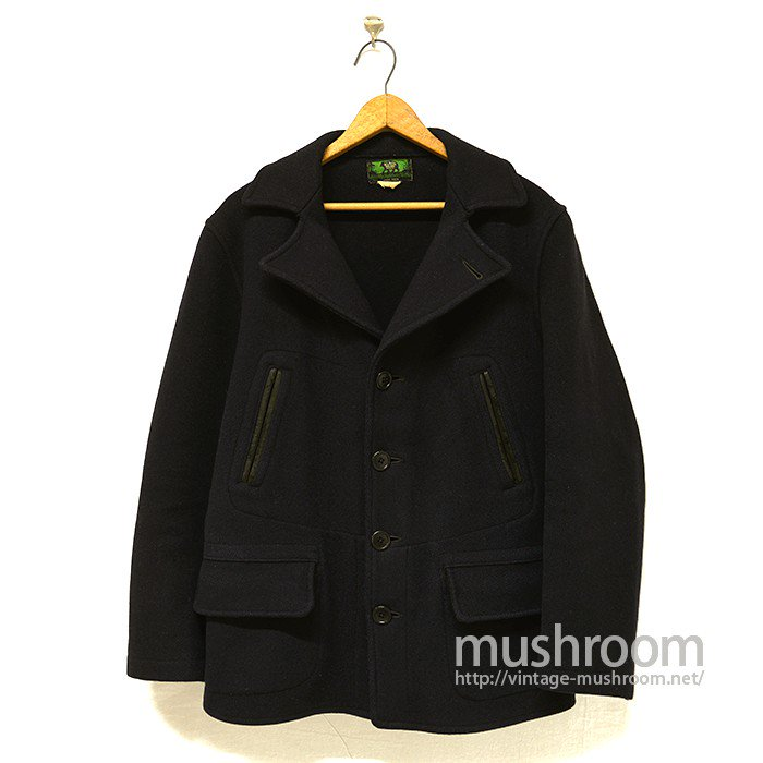 BLACK BEAR BRAND WOOL WORK COAT