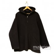 SPORTOGS HOODED PULLOVER ATHLETIC WOOL COAT