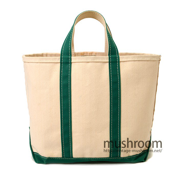 L.L.BEAN CANVAS TOTE BAG( NATURAL AND GREEN  )