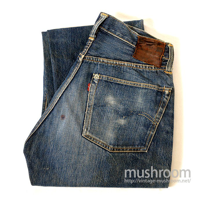 LEVI'S 501XX JEANS( LEATHER PATCH )