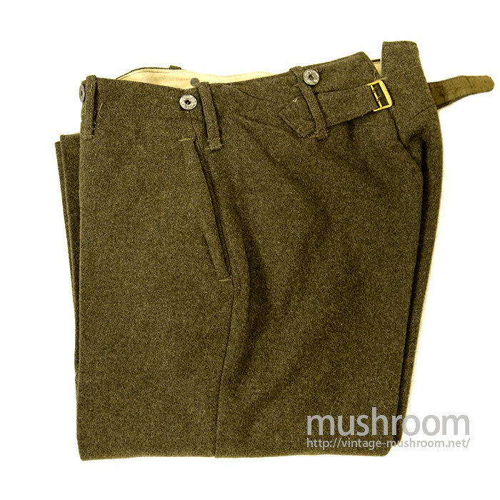WW1 USMC WOOL TROUSER WITH BUCKLEBACK
