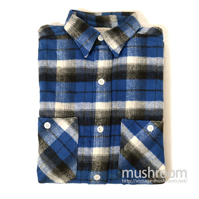 MW BRENT PLAID FLANNEL SHIRT( DEADSTOCK )