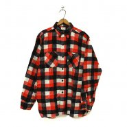 WINTER KING PLAID PRINT FLANNEL SHIRT( ONE-WSHED )