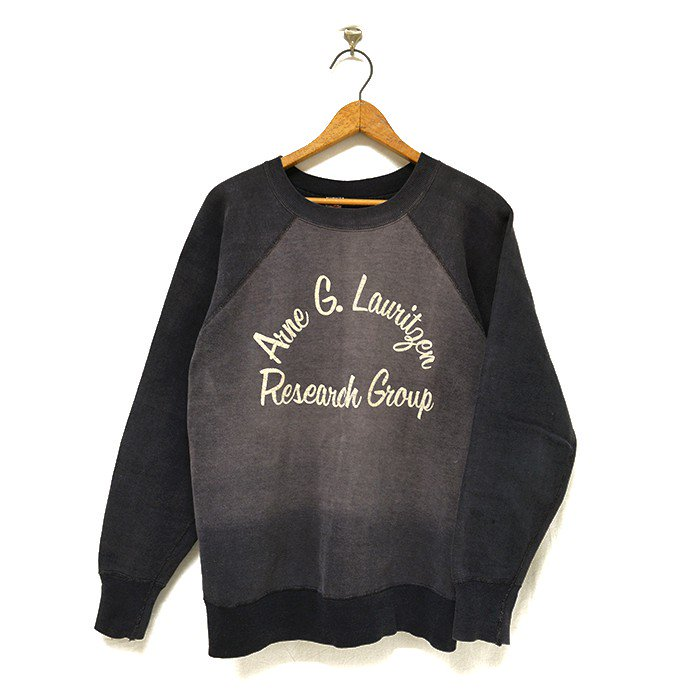 HANESPORT SWEAT SHIRT WITH FELT PRINTED