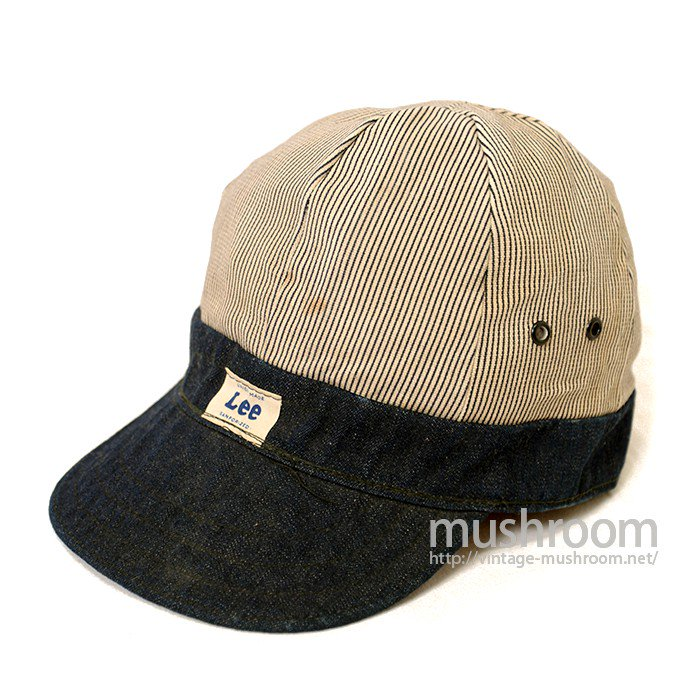 Lee DENIM AND STRIPE ENGINEER CAP