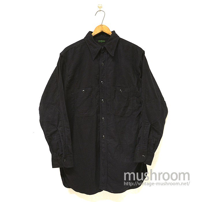 MONTGOMERY WARD FLANNEL WORK SHIRT( ONE-WASHED )