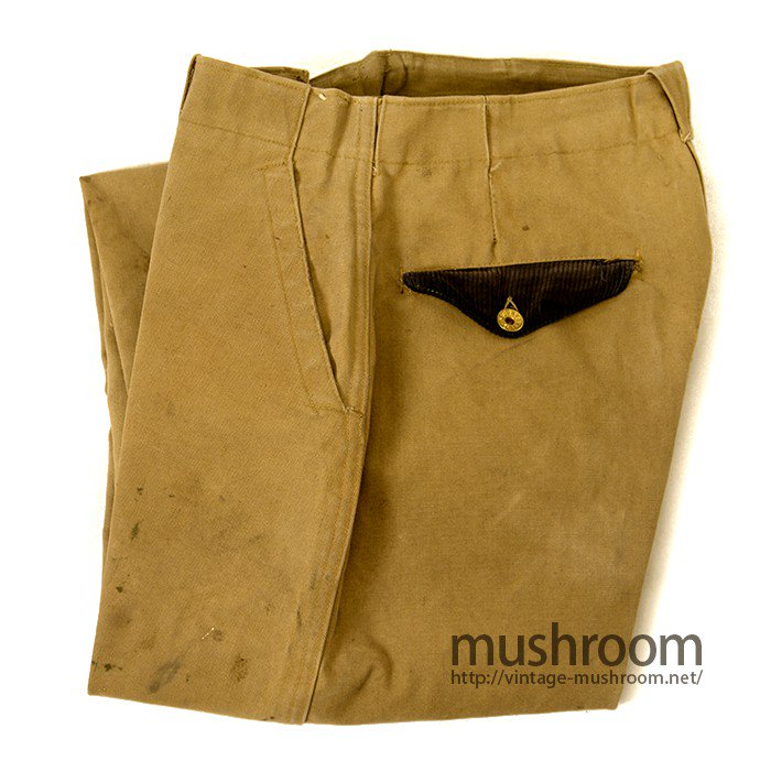 THE RANGER BROWN DUCK TROUSERS