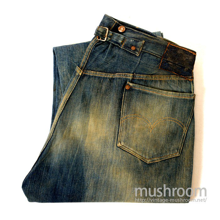 LEVI'S 501XX JEANS WITH BUCKLEBACK