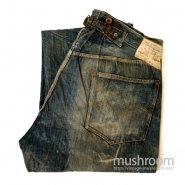 LEVI'S 201 JEANS WITH BUCKLEBACK