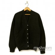 JOEL'S BLACK MOHAIR WOOL CARDIGAN( MINT )