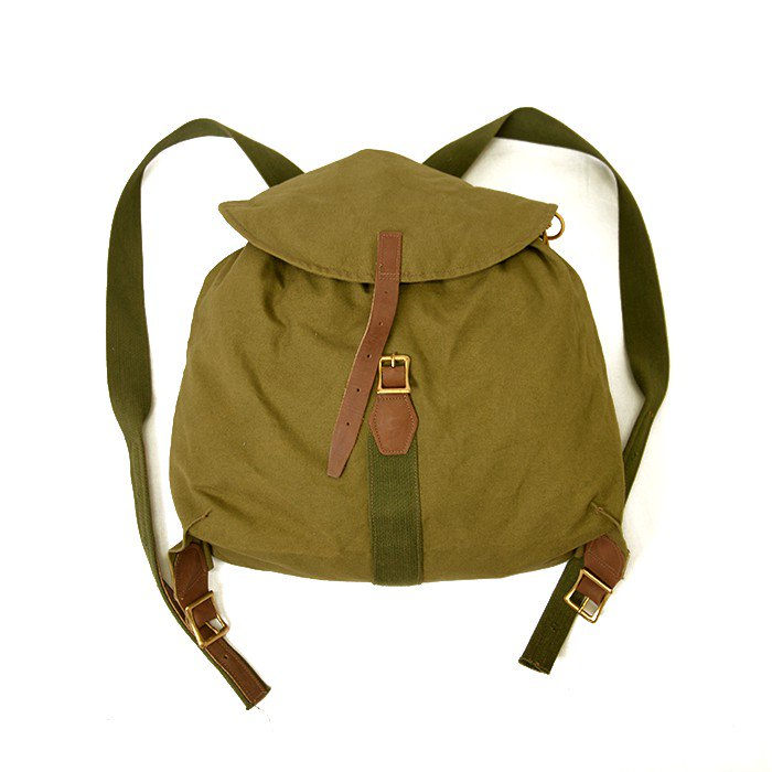 L.L.BEAN CANVAS RUCKSACK( DEADSTOCK )