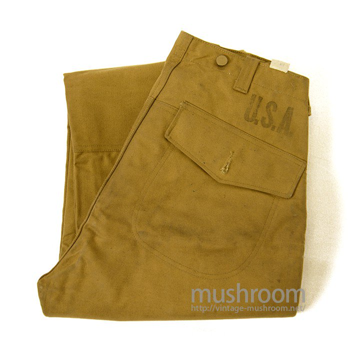 1930's OLD CANVAS LOGGER PANTS( DEADSTOCK )