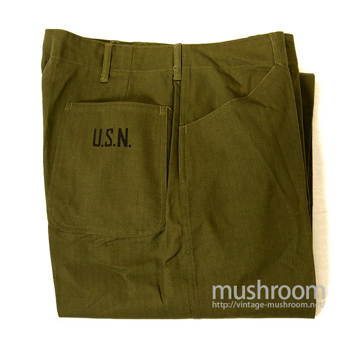 WW2 U.S.N UTILTY HBT TROUSER( W33/DEADSTOCK )