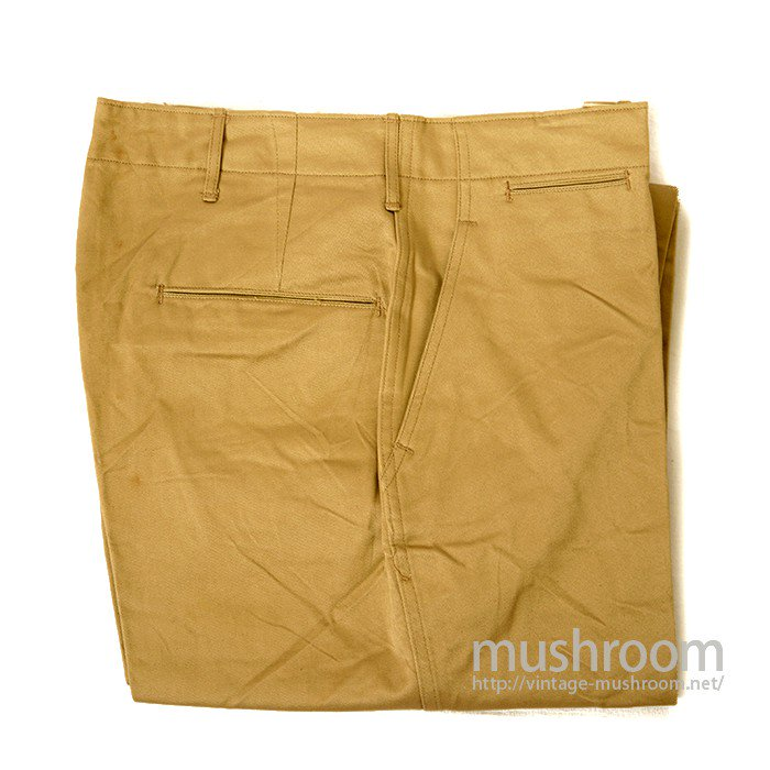 U.S.ARMY 45KHAKI CHINO TROUSER( W34/DEADSTOCK )