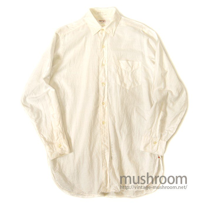 MILLER BY HATHAWAY OXFORD WHITE COTTON SHIRT