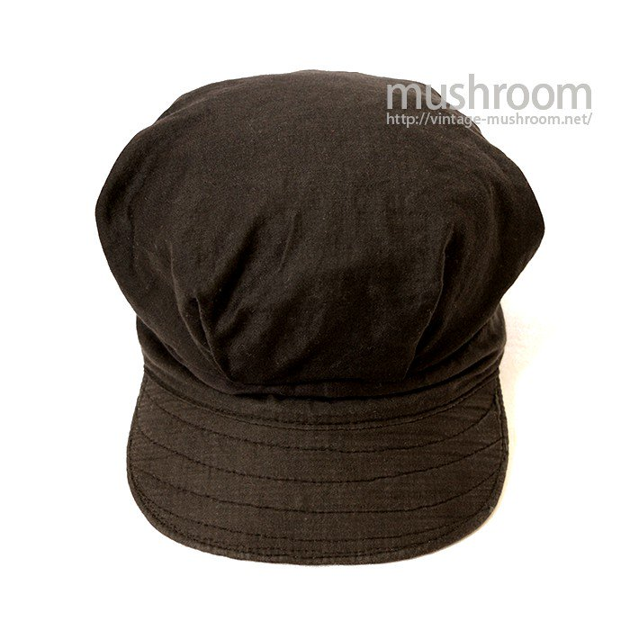 MILLER BLACK COTTON WORK CAP( MINT )