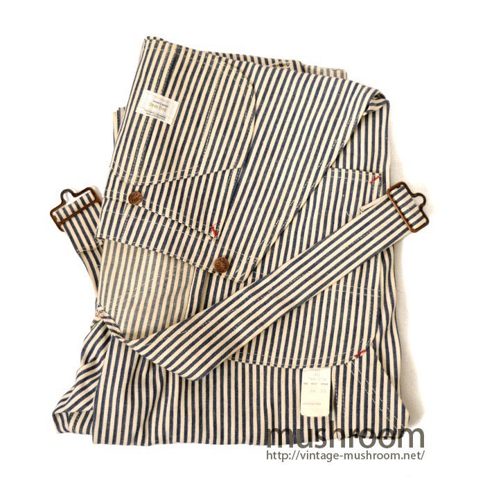 BIG MAC EXPRESS-STRIPE OVERALL( DEADSTOCK )