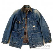 HERCULES DENIM COVERALL WITH EASY RIDER EMBROIDERY