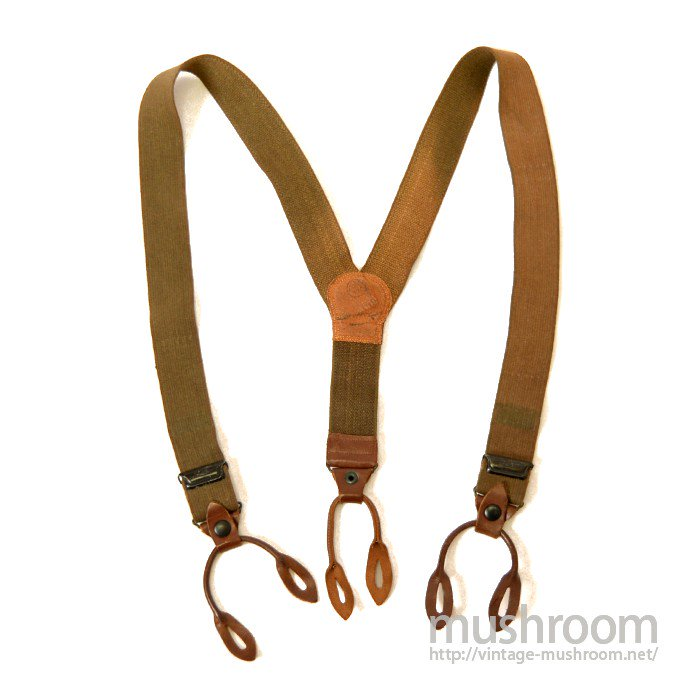 WW2 U.S.MILITARY SUSPENDERS( MINT )