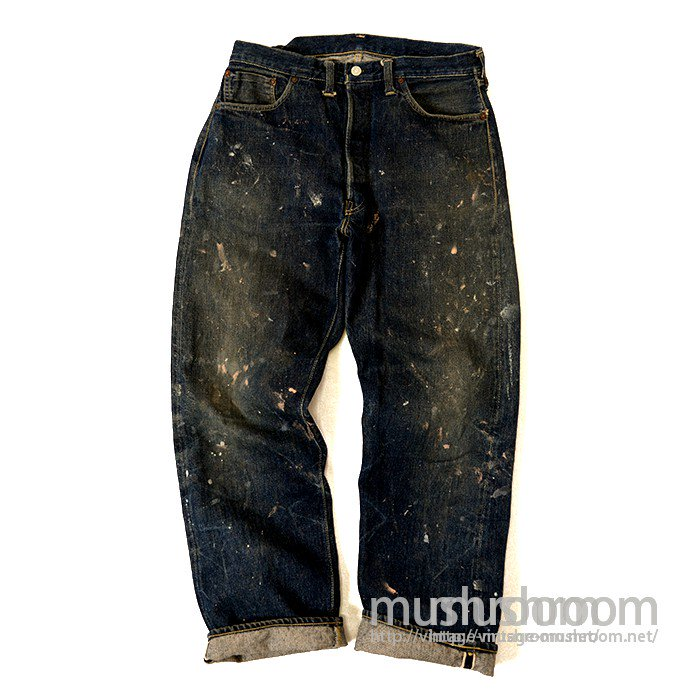 LEVI'S 501XX JEANS WITH PAINT( 1946's/ONE SIDE E TAB  )