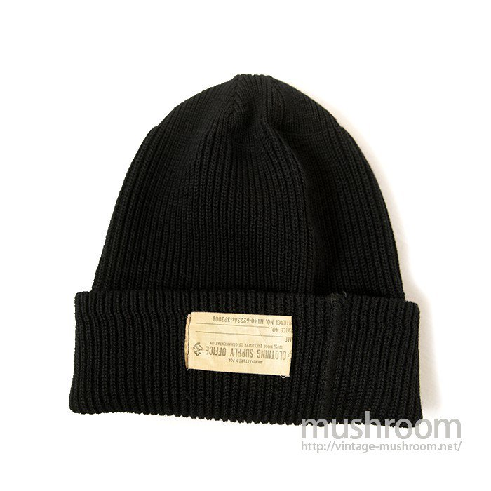 WW2 U.S.NAVY KNIT CAP( DEADSTOCK )