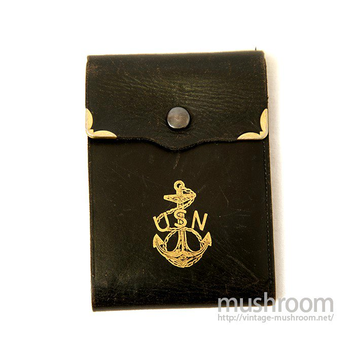 WW2 U.S.NAVY LEATHER WALLET( MINT )