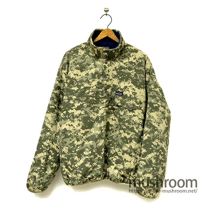 PATAGONIA REVERSIBLE FLEECE JACKET( MILITARY )