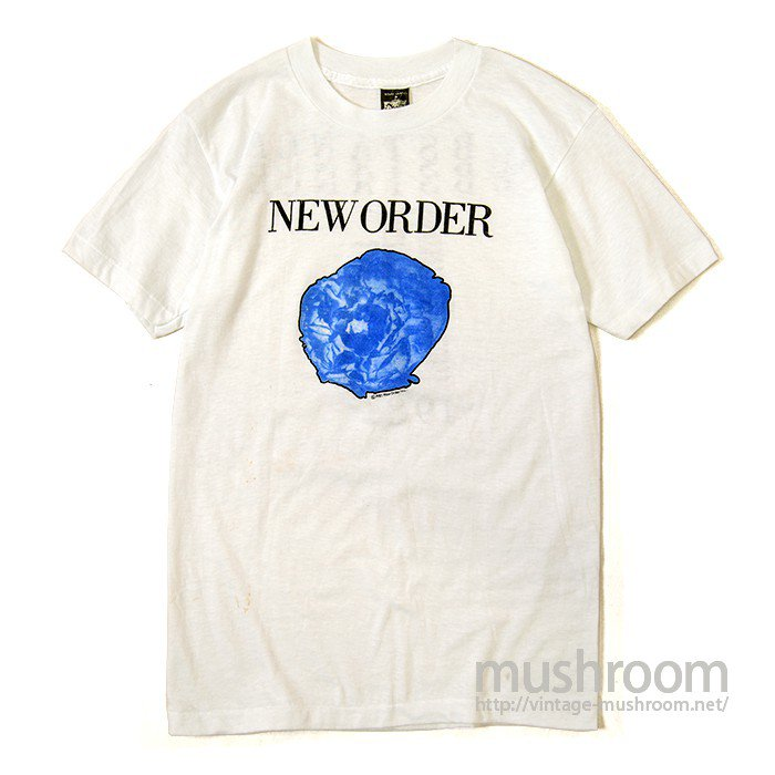 NEW ORDER TOUR T-SHIRT( MINT )