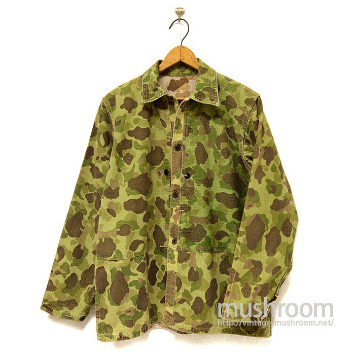 USMC P-44 DUCK HUNTER CAMO HBT JACKET