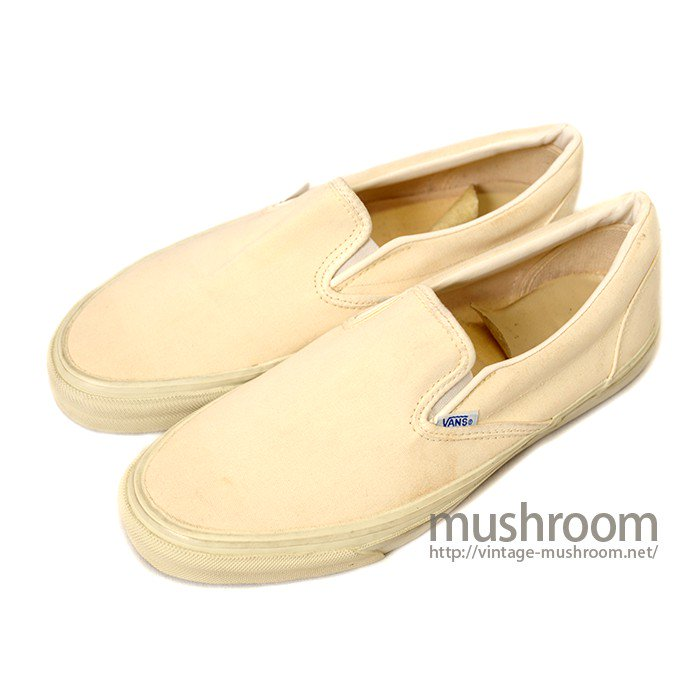 VANS SLIP-ON CANVAS SHOES( DEADSTOCK )