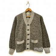 SPORTSWEAR SALT & PEPPER SWEAT CARDIGAN( MINT )