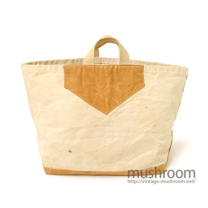 OLD TWO-TONE CANVAS TOTE BAG