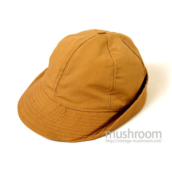 JOHNS BROWN COTTON HUNTING CAP