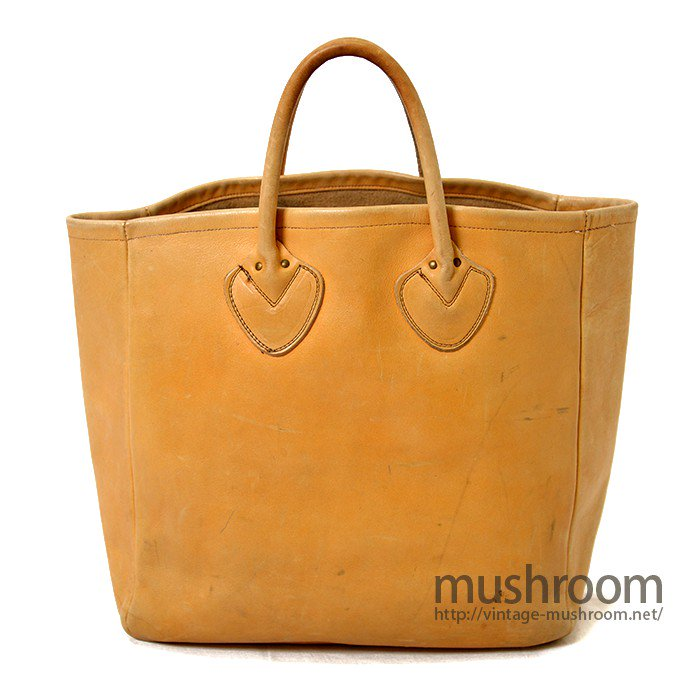 L.L.BEAN LEATHER TOTE BAG