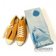 CONVERSE COACH CANVAS SHOE( GOLD/DEADSTOCK )