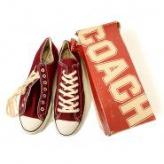CONVERSE COACH LO CANVAS SHOE( MAROON/DEADSTOCK )