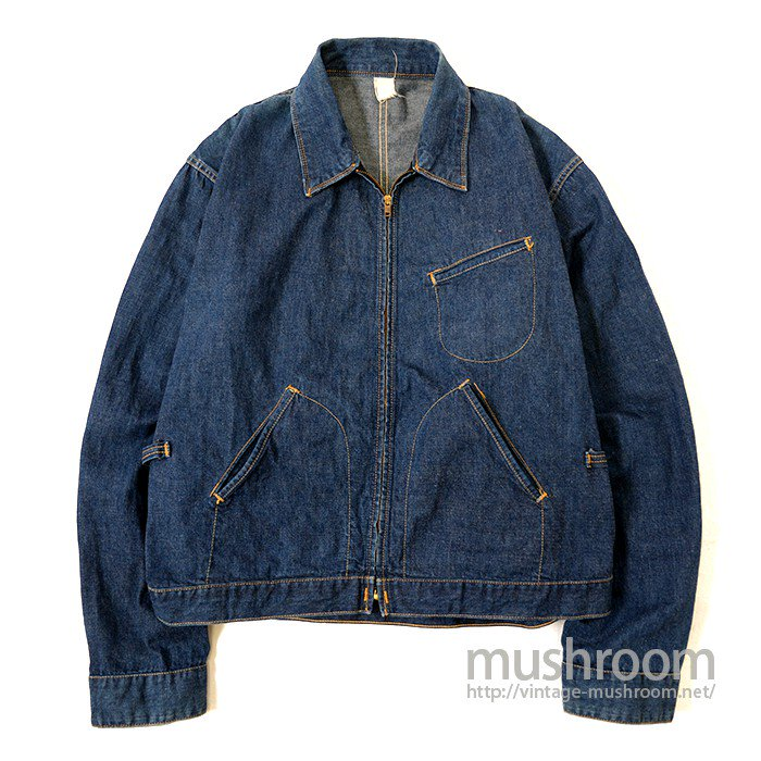 OLD DENIM WORK JACKET( MINT )