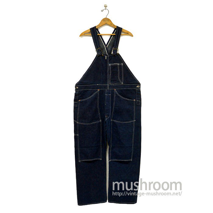 OLD W/KNEE DENIM OVERALLS( MINT )