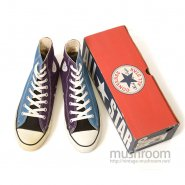 CONVERSE ALL-STAR CANVAS SHOE( MULTI COLOR/DEADSTOCK )